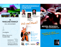 Flyer Konzertpicknick
