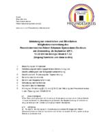 Einladung Mitgliederversammlung RSG 2017