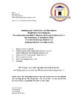 Einladung MV Freundeskreis RSG 2018