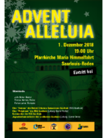 Flyer Adventskonzert '18